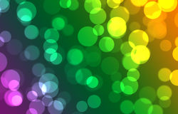 Abstract background with bokeh and variety color Stock Photos