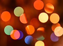 Abstract background bokeh. Royalty Free Stock Photography