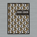 Abstract background for Book cover, Poster, Flyer, Brochure, Corporate, Annual report design Layout template in A4 size. Royalty Free Stock Images