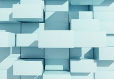 Abstract background of box float Stock Images