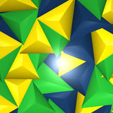 Abstract background. Brazil Creative Abstract image Design stock illustration