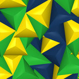 Abstract background. Brazil Creative Abstract image Design vector illustration