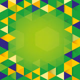 Abstract background Brazil Flag concept. Abstract background of Brazil Flag concept Stock Photos