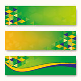 Abstract background Brazil Flag concept. Abstract background Label of Brazil Flag concept Royalty Free Stock Photo
