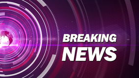Abstract background breaking news Stock Photos