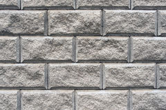 Abstract background of brick masonry. Abstract background of brickwork gray Stock Photo