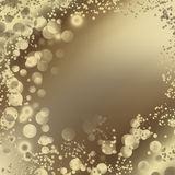 Abstract background with bright bubbles Royalty Free Stock Photography