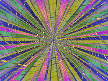 Abstract background. In bright color tones in the form of rays and light stock illustration