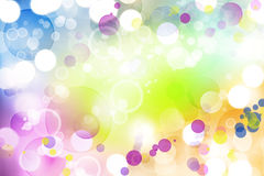 Abstract background. Bright colorful circles abstract background Royalty Free Stock Images