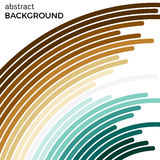 Abstract background with bright colorful lines. Colored circles with place for your text  on a white background Royalty Free Stock Photography