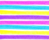 Abstract bright colorful striped background. Abstract background with bright colorful strips stock illustration