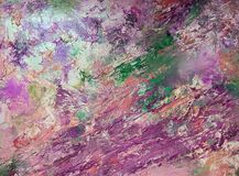 Abstract background with bright colors. Oil painting stock images