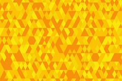 Abstract background in bright colors. Vector illustration. Abstract background with bright triangles . backdrop in orange colors. Vector illustration. A good Royalty Free Stock Photography