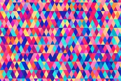 Abstract background in bright colors. Vector illustration. Abstract background with bright triangles . backdrop in rainbow colors. Vector illustration. A good Royalty Free Stock Photography