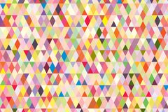 Abstract background in bright colors. Vector illustration. Abstract background with bright triangles . backdrop in vivid colors. Vector illustration. A good Stock Image