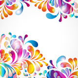 Abstract background bright elements. Royalty Free Stock Photography