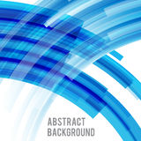 Abstract background bright and light curve blue 003 Royalty Free Stock Photography