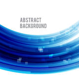 Abstract background bright and light curve blue 007 Royalty Free Stock Photos
