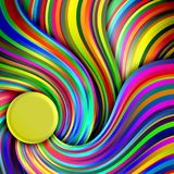 Bright lines. Abstract background of bright lines of gradient Royalty Free Stock Images