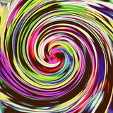 Background with bright multi-colored swirl Stock Image