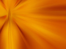 Abstract background -, bright orange lights in darkness.  Stock Image