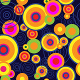 Abstract background with bright psychedelic concentric circles. Abstract background with a bright psychedelic concentric circles Stock Photography