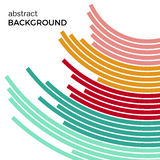 Abstract background with bright rainbow colorful lines Stock Photo