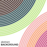 Abstract background with bright rainbow colorful lines Royalty Free Stock Photography