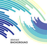 Abstract background with bright rainbow colorful lines Royalty Free Stock Images