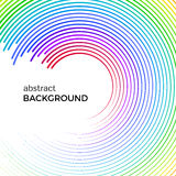 Abstract background with bright rainbow colorful lines. Royalty Free Stock Photos