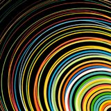 Abstract background with bright rainbow colorful lines wave. Abstract background with bright rainbow colorful lines stock illustration