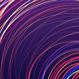 Abstract background with bright rainbow colorful lines wave. Abstract background with bright rainbow colorful lines royalty free illustration