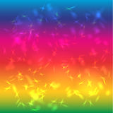 Abstract background bright saturated. Rainbow. Glare.  Royalty Free Stock Images