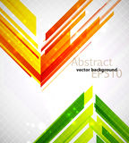 Abstract background. Bright abstract shapes background. EPS10 vector image Stock Photos