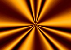 Abstract background, bright silk of copper color.  Royalty Free Stock Photo