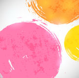 Abstract background with bright splashes. Vector illustration Stock Photos