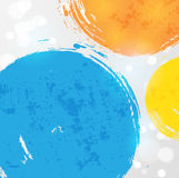 Abstract background with bright splashes. Vector illustration Royalty Free Stock Photo
