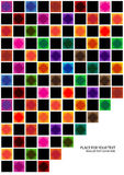 Abstract background with bright squares Royalty Free Stock Photo