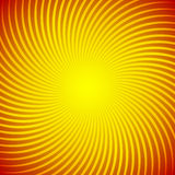 Abstract background with a bright sunny yellow rays. Substrate for holiday cards and advertising. Stock Photos