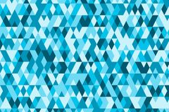Abstract background in bright colors. Vector illustration. Abstract background with bright triangles . backdrop in blue colors. Vector illustration. A good Stock Photography