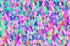 Abstract background in bright colors. Vector illustration. Abstract background with bright triangles . backdrop in vivid colors. Vector illustration. A good Stock Images