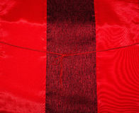 Abstract background of brightly colored red silk Stock Photos