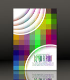 Abstract background for brochure, cover. Template for the poster. Vector. Royalty Free Stock Photography