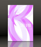 Abstract background for brochure, cover. Template for the poster. Vector. Template design for cover. Banner in A4 size. Abstract background. Vector Royalty Free Stock Photos