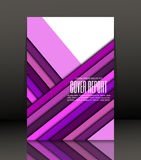 Abstract background for brochure, cover. Template for the poster. Vector. Stock Images