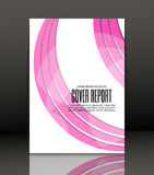 Abstract background for brochure, cover. Template for the poster. Vector. Royalty Free Stock Photos