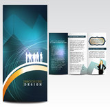 Abstract background, brochure design. Template Royalty Free Stock Images