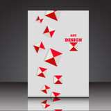Abstract A4 background brochure flyer eps10 illustrati. On 1 vector illustration