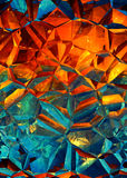 Abstract background - broken glass Stock Photo