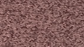 Abstract background in brown and beige tones in brick wall style with noise Stock Images
